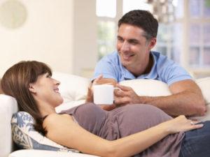 Роды с мужем